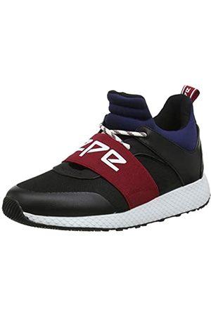 Pepe Jeans London Damen KOKO Archi Hohe Sneaker, (Black 999)