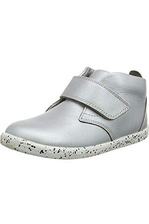 Bobux Mädchen IW Ziggy Hi Top Hohe Sneaker, (Silver)