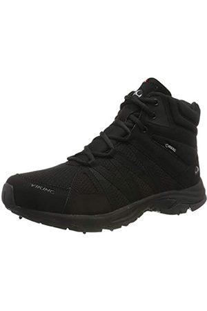 Viking Herren Komfort Mid Spikes GTX M Trekking- & Wanderstiefel, (Black 2)