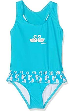 Playshoes Mädchen UV-Schutz Schwäne Badeanzug