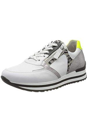 Gabor Shoes Damen Comfort Basic Derbys, (Weis/Silb/Schw/ 51)
