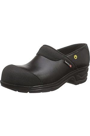 Sanita Workwear Unisex-Erwachsene Safety Open-SB Clogs, (Black 2)