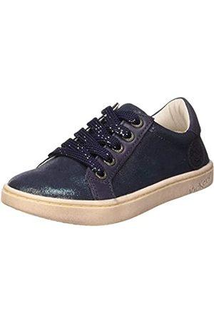 Kickers Mädchen Lykool Sneaker, (Marine Metallise 103)