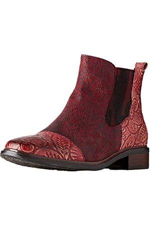 LAURA VITA Damen ERCWINO 02 Chelsea Boots, (Rouge Rouge)