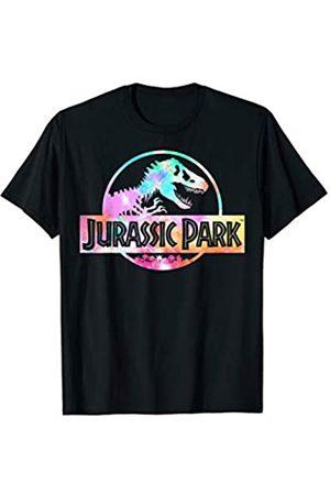 Unbekannt Jurassic Park Full Logo Tie Dye Vibrant T-Shirt