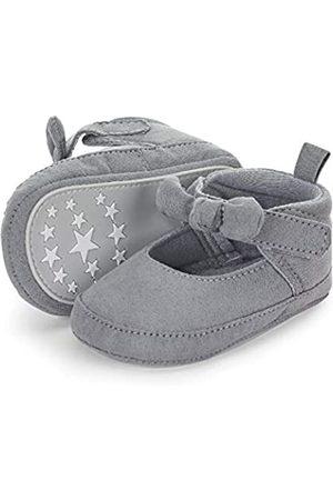 Sterntaler Baby Mädchen Schuh Stiefel, (Rauchgrau 566)