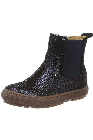 Bisgaard Mädchen Meri Chelsea Boots, (Navy Swirl 614)