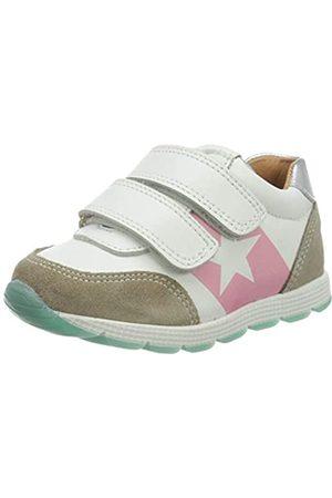 Bisgaard Mädchen Liam Sneaker, Mehrfarbig (White/Silver 2304)