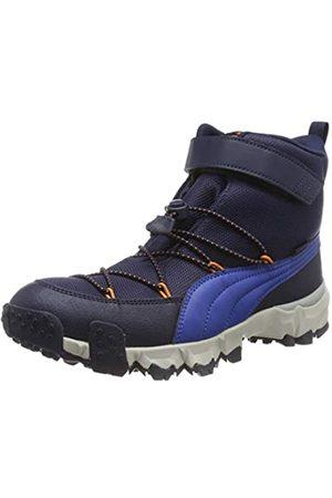 Puma Unisex-Kinder Maka PURETEX V Jr Sneaker, (Peacoat-Jaffa 01)