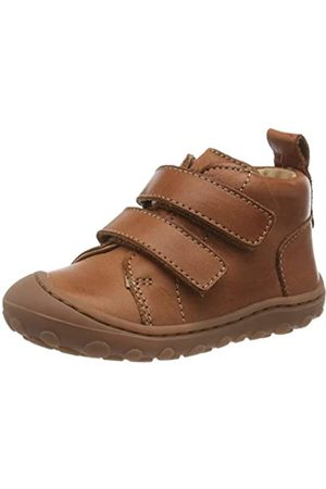 Bisgaard Unisex Baby Gerle Klett Sneaker, (Cognac 66)