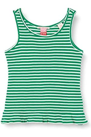 Scotch&Soda R´Belle Mädchen Rib Yarn Dyed Stripe Tank with Ruffle at The Hem Top