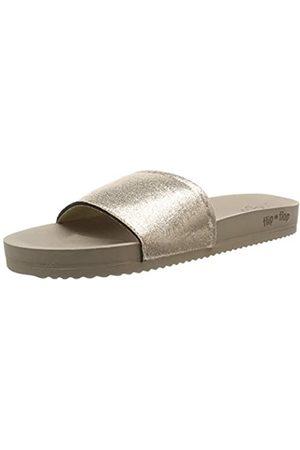 flip*flop Damen Pool metallic Cracked Pantoletten