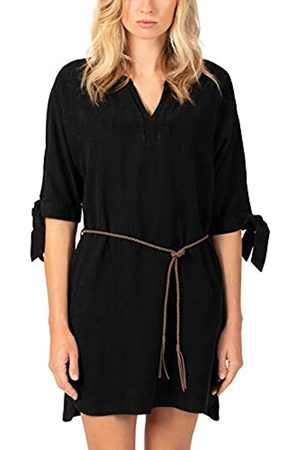 Timezone Damen Shortsleeve Lyocell Dress Kleid