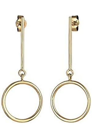 Elli Ohrringe Geo Kreis Minimal Basic 925 Sterling Silber