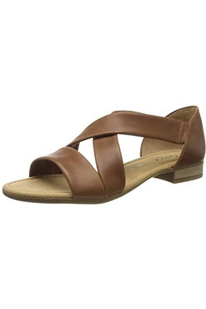 Gabor Shoes Damen Comfort Sport Riemchensandalen, (Peanut 54)