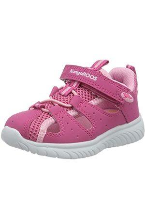 KangaROOS Unisex Baby KI-Rock Lite EV Sneaker, (Daisy Pink/Fuchsia Pink 6176)