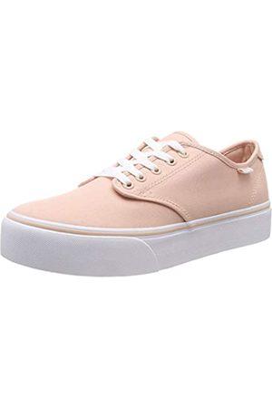 Vans Damen Camden Platform Sneaker, Pink ((Canvas) Spanish Villa Vv8)