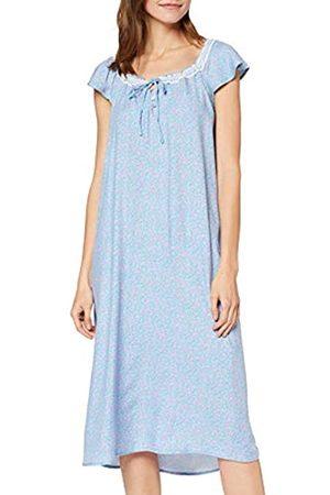Women secret Women's Secret Damen New Season Nightdresses cm Blue Flower Nd Fr Nachthemd