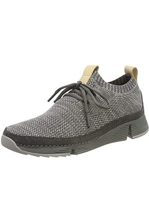 Clarks Damen Tri Native. Sneaker, (Grey Combi)