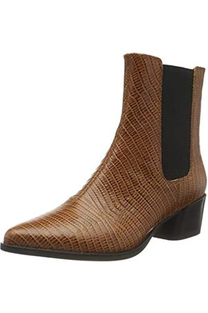 Vagabond Damen Lara Chelsea Boots, (Cognac 27)