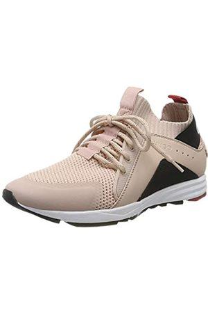 HUGO BOSS Damen Hybrid_Runn_knlg Sneaker, Pink (Peach Whip 694)