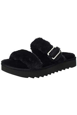 KOOLABURRA BY UGG FURR-AH, Damen Offene Sandalen mit Rutsche, (BLACK)