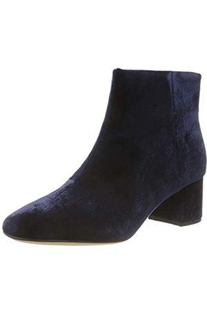 Clarks Damen Sheer Flora Chelsea Boots, (Navy Navy)