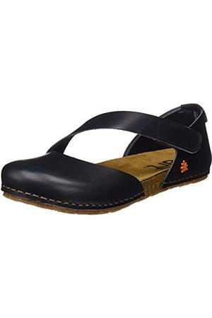 Art Damen 0442 Geschlossene Sandalen, (Black Black)