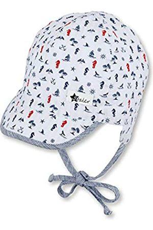 Sterntaler Baby-Jungen Schirmmütze Bindebändern, Ohrenklappen und maritimen Motiven Mütze