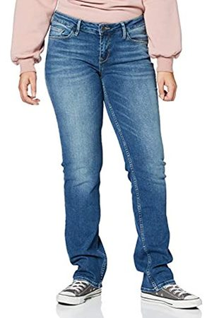 Cross Jeans Damen Rosè Straight Jeans