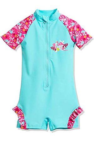 Playshoes Mädchen UV-Schutz Einteiler Flamingo Badeanzug