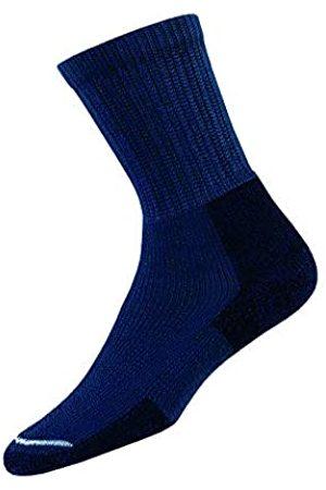 Thorlo S Unisex KX Hiking Thick Padded Crew Sock, Dark Blue