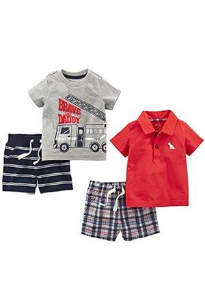 Simple Joys by Carter's 4-piece Playwear Set Shorts Sets 18 Months