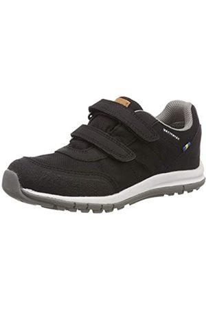 Kavat Unisex-Kinder Halland WP Sneaker, (Black 911)
