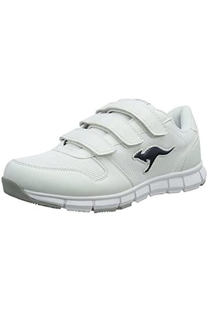 KangaROOS Unisex-Erwachsene K-BlueRun 701 B Low-Top, (White/dk Navy 042)