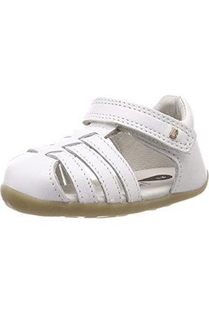 Bobux Unisex-Kinder SU Jump Geschlossene Sandalen, (White)