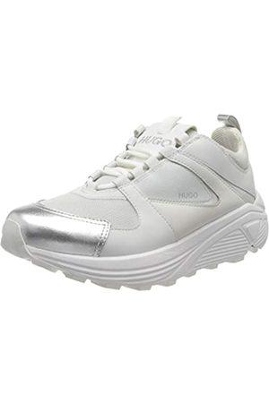 HUGO BOSS Damen Horizon_Runn_LC Sneaker, (White Combi 121)