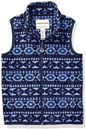 Amazon Polar fleece-outerwear-vests, Blue Geo