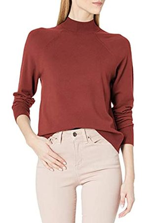 Daily Ritual Fine Gauge Stretch Ribbed Turtleneck Sweater pullover-sweaters