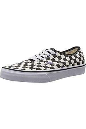 Vans Unisex-Erwachsene U Authentic Sneaker, (Noir (Black/White Checker)