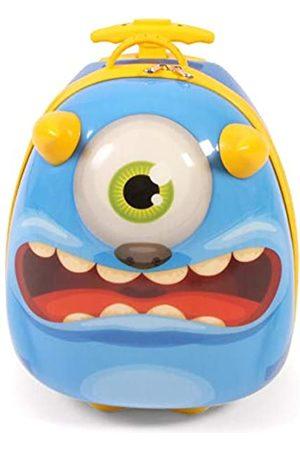 Bayer Chic 2000 Bouncie Kinder-Trolley mit 3D-Monster-Motiv Kindergepäck