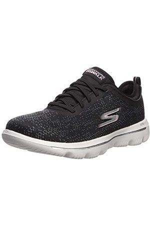Skechers Damen Go Walk Evolution Ultra-mirab Sneaker, (Black Light Pink Bklp)