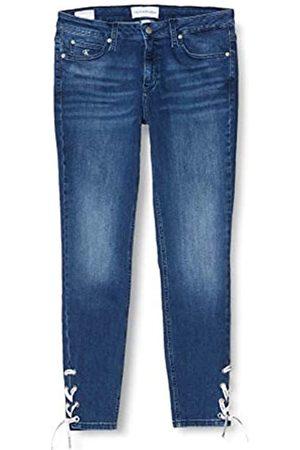 Calvin Klein Damen Ckj 011 Mid Rise Ankle Skinny Jeans