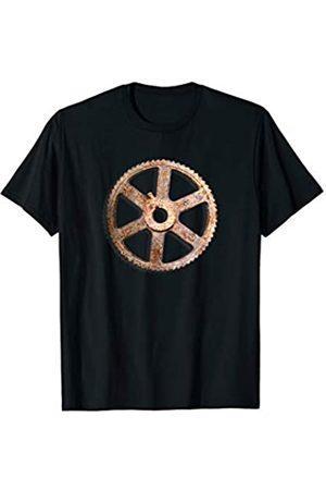 Jimmo Designs Rostiges Altes Zahnrad Steampunk T-Shirt
