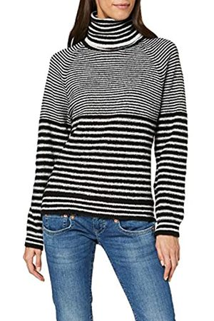 Herrlicher Damen Lania Striped Wool Pullover