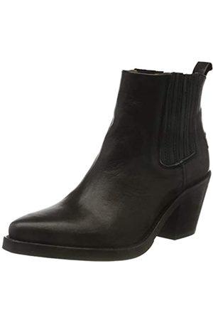 Shabbies Amsterdam Damen IRIS Chelsea Boots, (Black 0028)