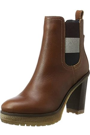 Tommy Hilfiger Damen C1385LEO 13A Chelsea Boots, (Winter Cognac)