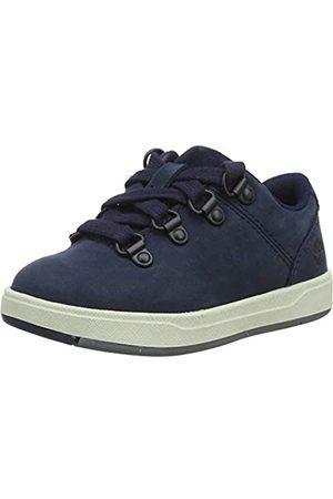 Timberland Unisex-Kinder Davis Square Alpine Oxford Sneaker, (Black Iris)