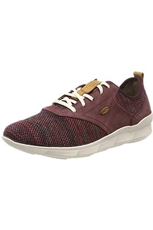 Camel Active Damen Emotion 71 Sneaker, (Red/Oxblood 1)