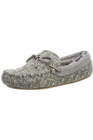 flip*flop Damen loaferknit Pantoffeln, (Grey 0300)